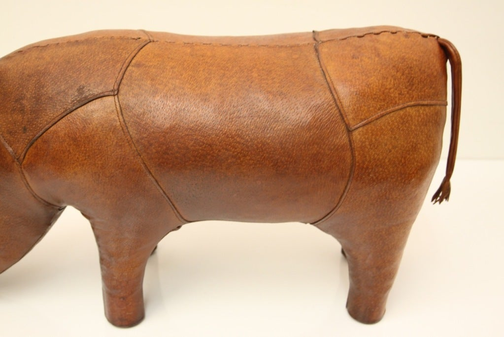 Omersa Leather Rhino ottoman retailed by Abercrombie & Fitch image 9