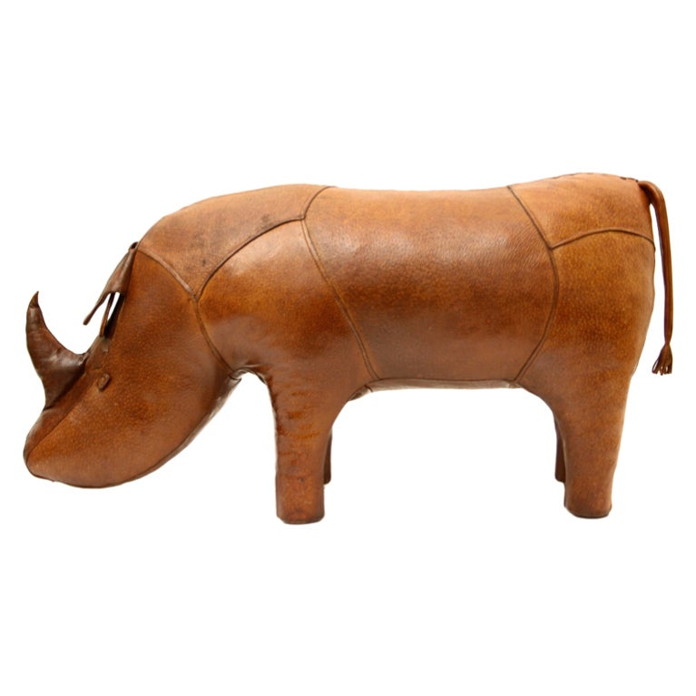 Omersa Leather Rhino ottoman retailed by Abercrombie & Fitch image 10