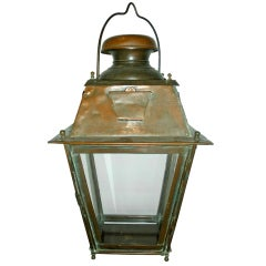 French Copper Streetlight