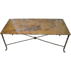 French Maison Bagues Coffee Table