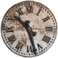 Early 20th Century French Clock Face