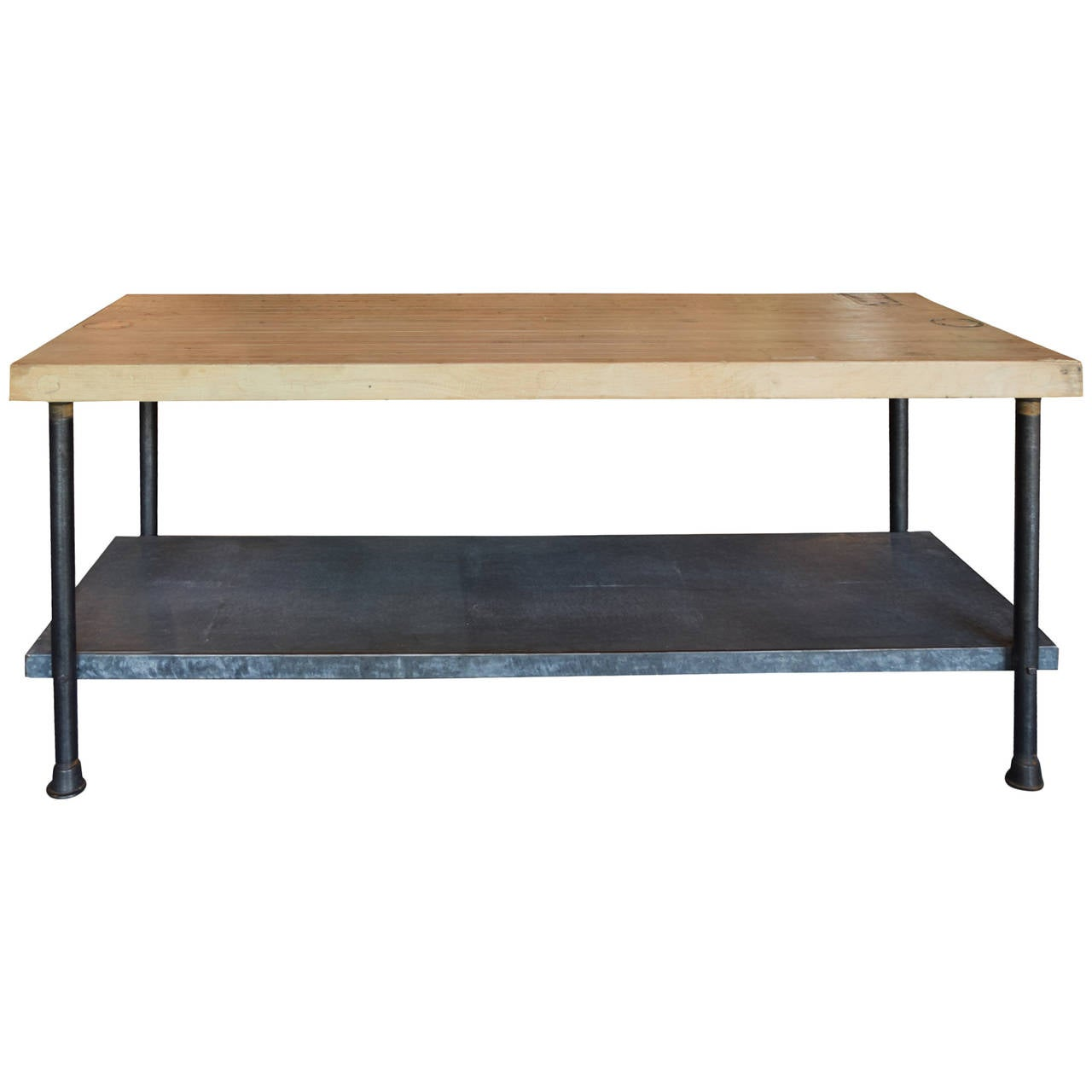 Industrial Work Table at 1stdibs : 2764052l from www.1stdibs.com size 1280 x 1280 jpeg 57kB