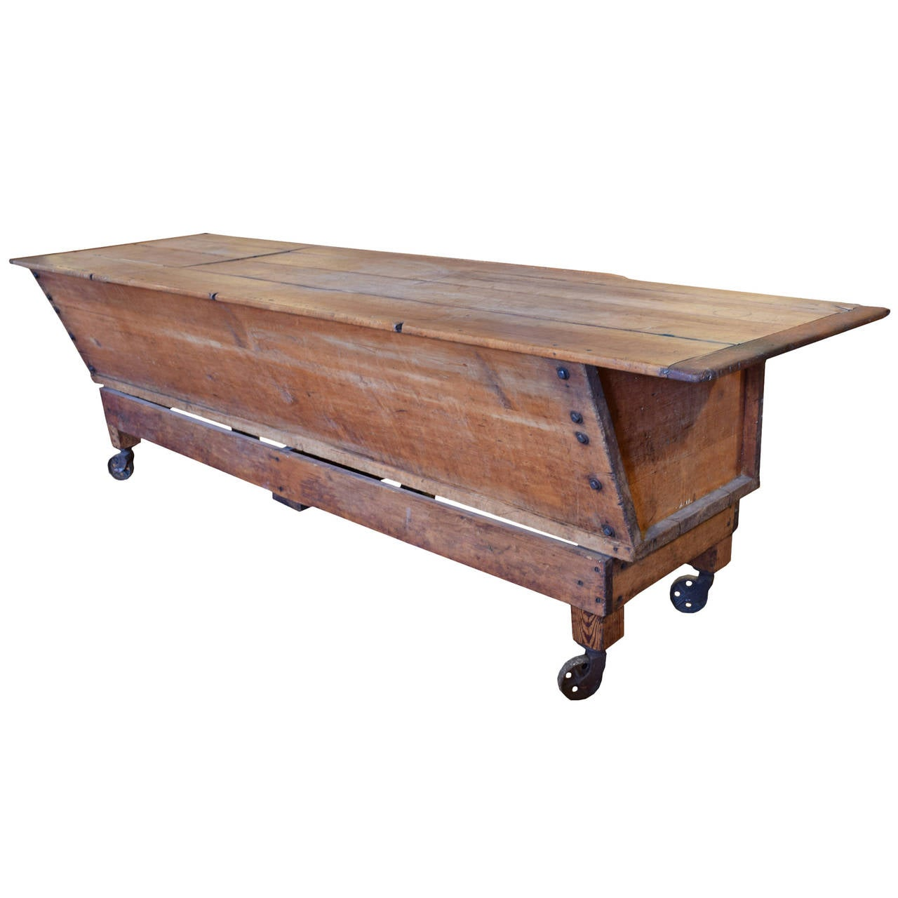 Early 20th century american dough table for sale at 1stdibs - Archives departementales 33 tables decennales ...