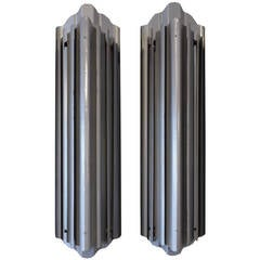 Pair of American Art Deco Wall Sconces
