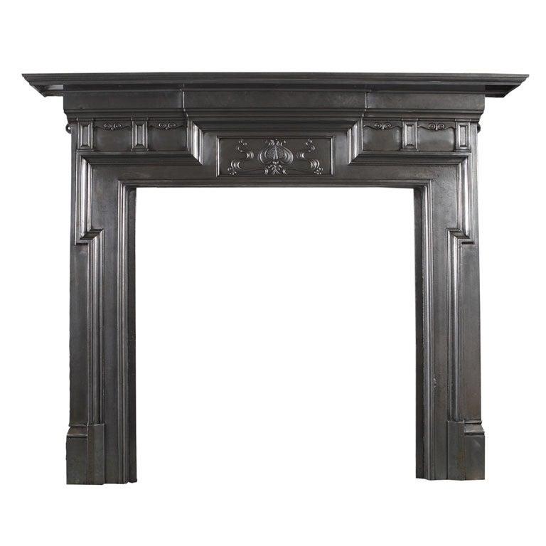 Cast Iron Fireplace Mantel At 1stdibs