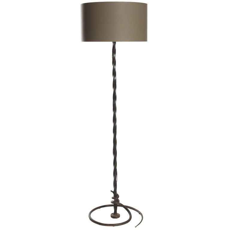 Fer Forge Serpent Floor Lamp 1