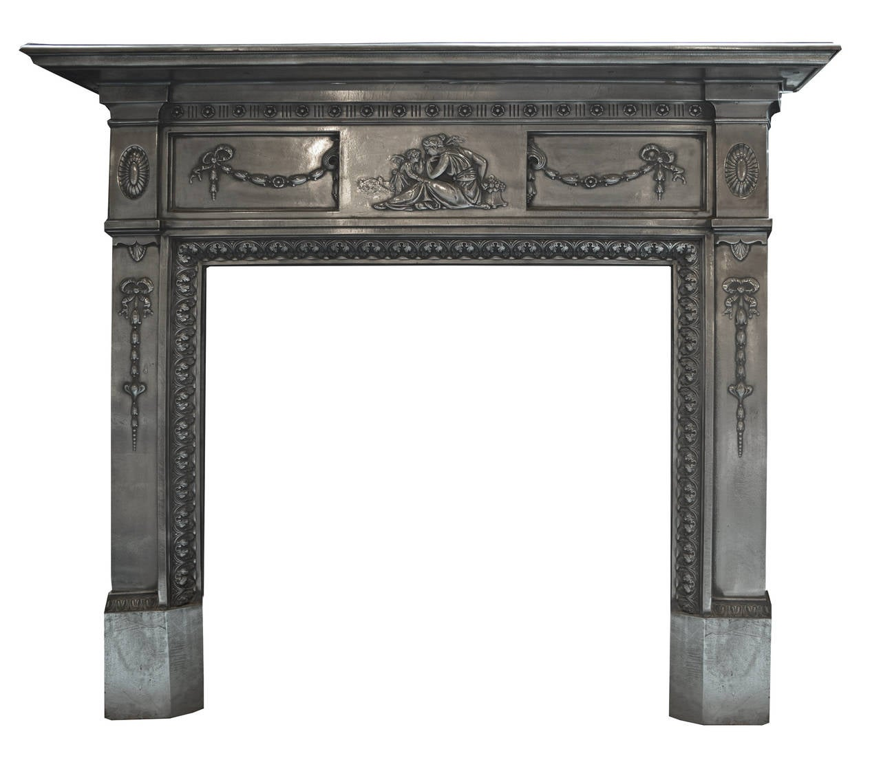 19th Century Cast Iron Mantel For Sale At 1stdibs