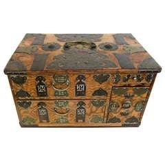 Chinese Jewelry or Money Box
