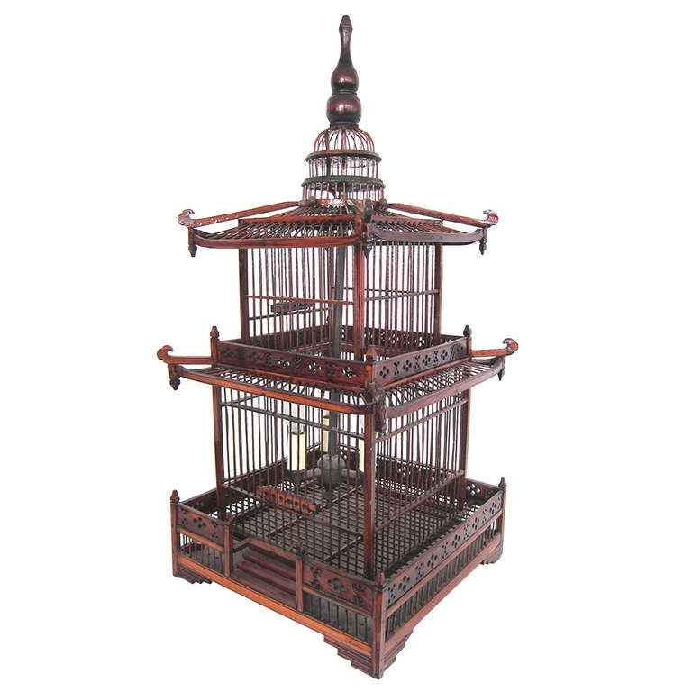 Chinese Pagoda Chandelier at 1stdibs