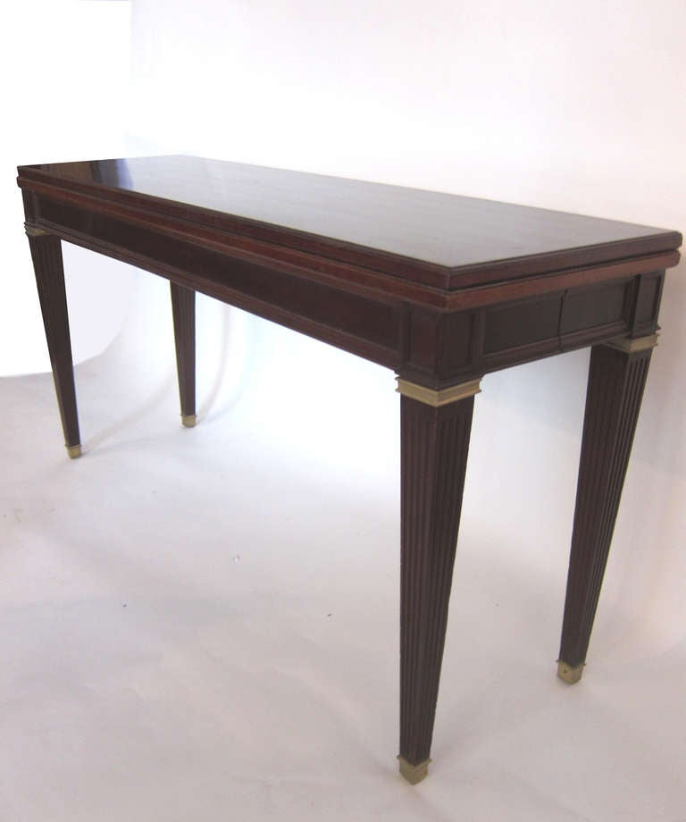 Attributed To Jean Michael Frank Dining Console Table For