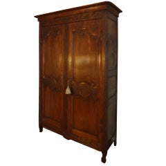 French Louis XV Armoire Fitted