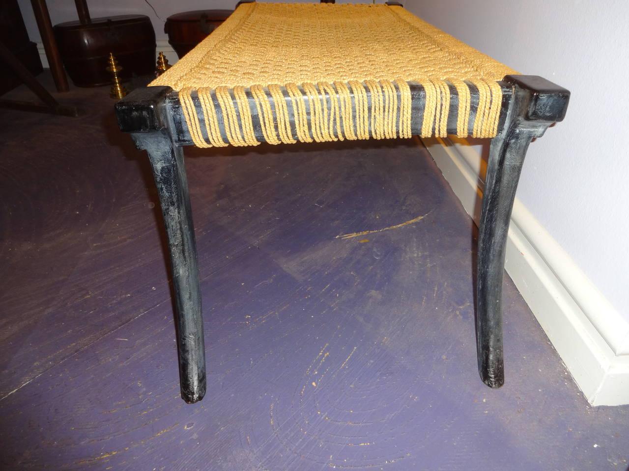 klismos leg bench ~ klismos low table or bench for sale at 1stdibs