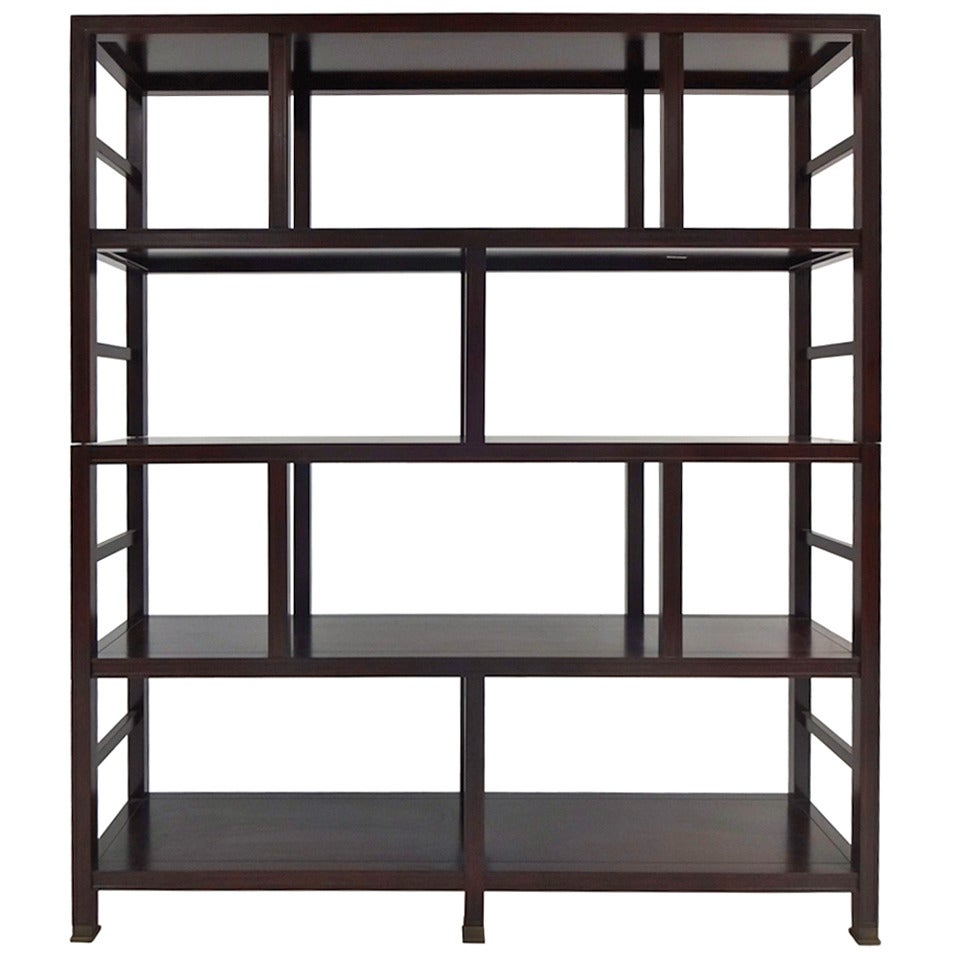 Mahogany etagere at 1stdibs - Etagere cases carrees ...