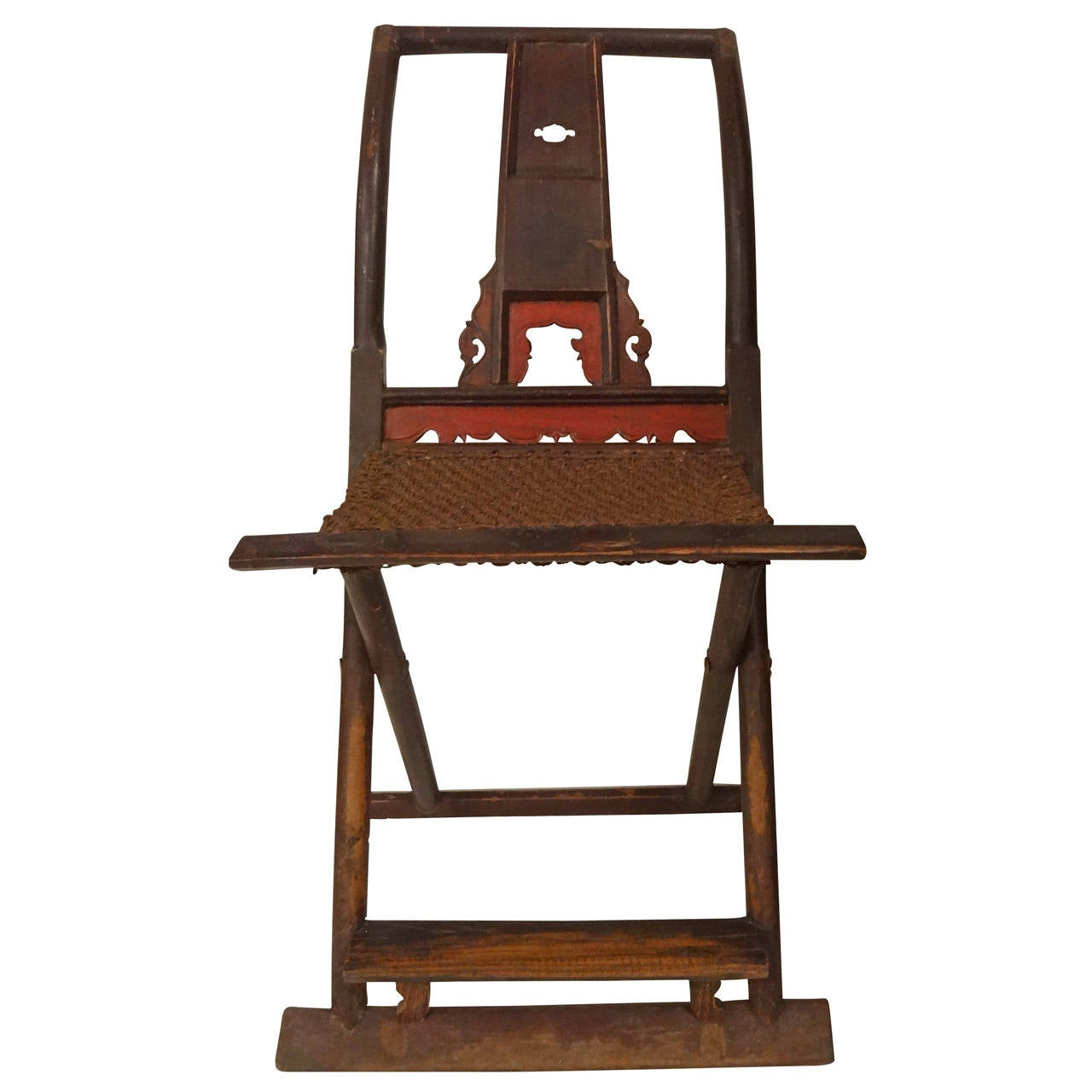 Chinese Folding Hunting Chair at 1stdibs