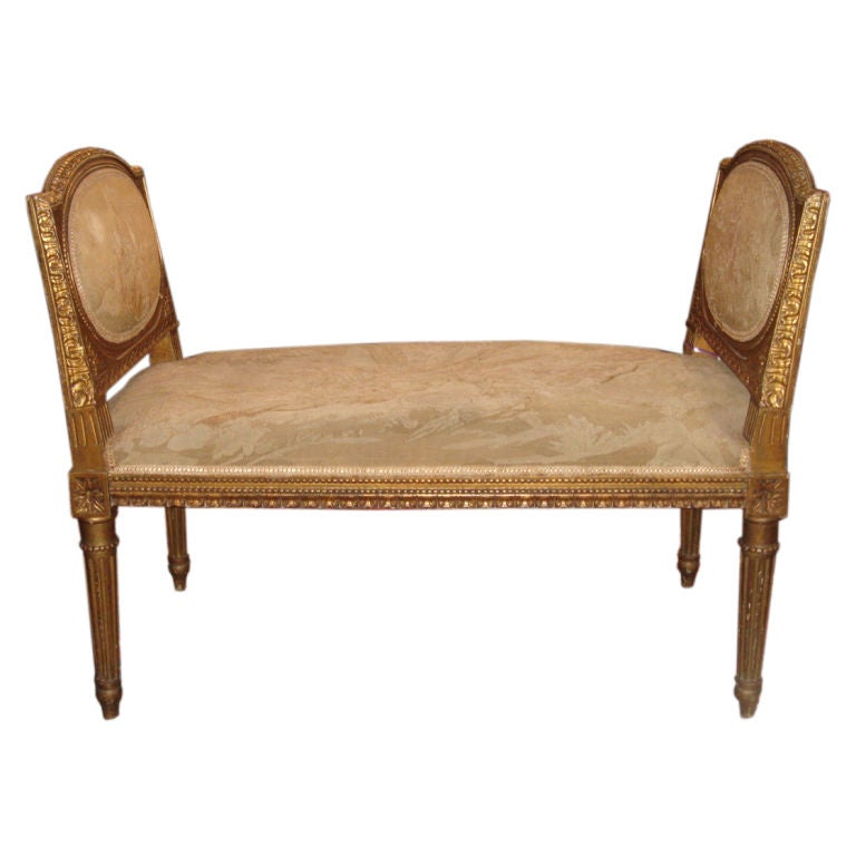 french louis xvi style window seat bench at 1stdibs