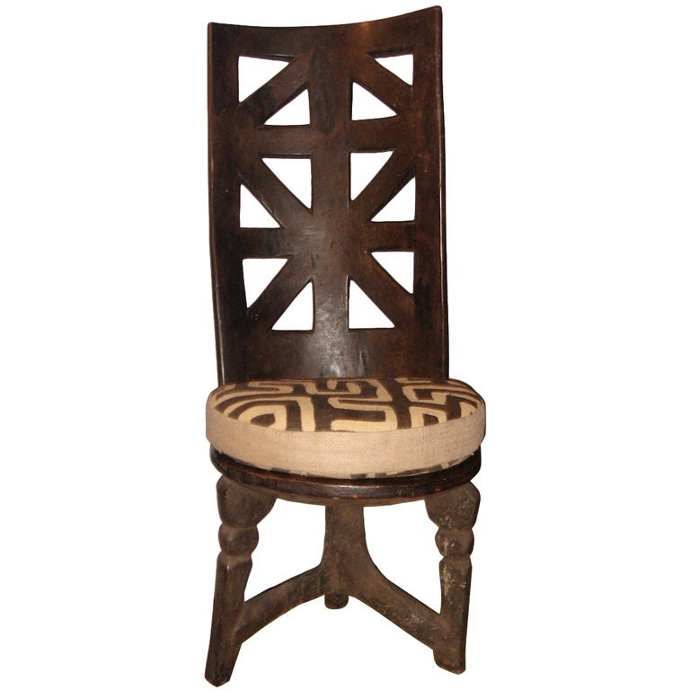 African Chair At 1stdibs