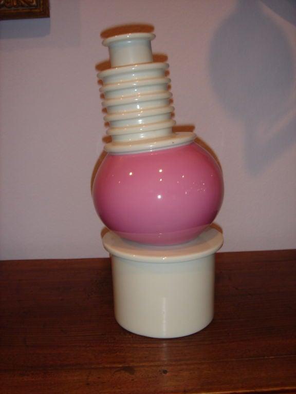 Memphis Porcelain Nilo Vase by Ettore Sottsass image 10