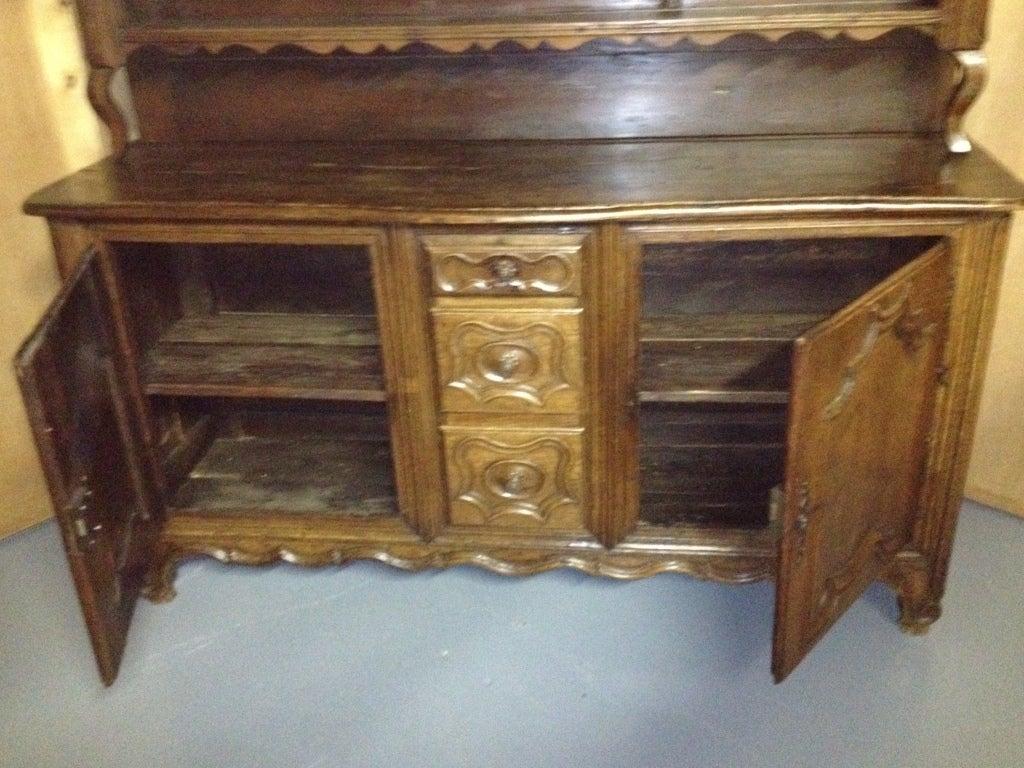 french vaisselier cabinet sideboard at 1stdibs. Black Bedroom Furniture Sets. Home Design Ideas