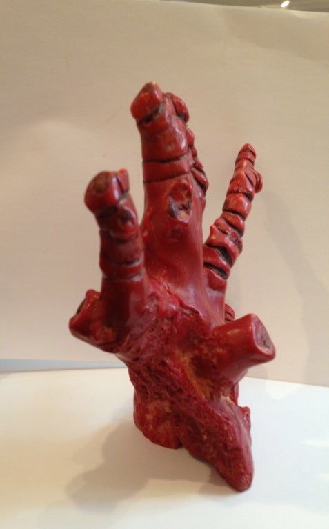 Red branch coral at stdibs