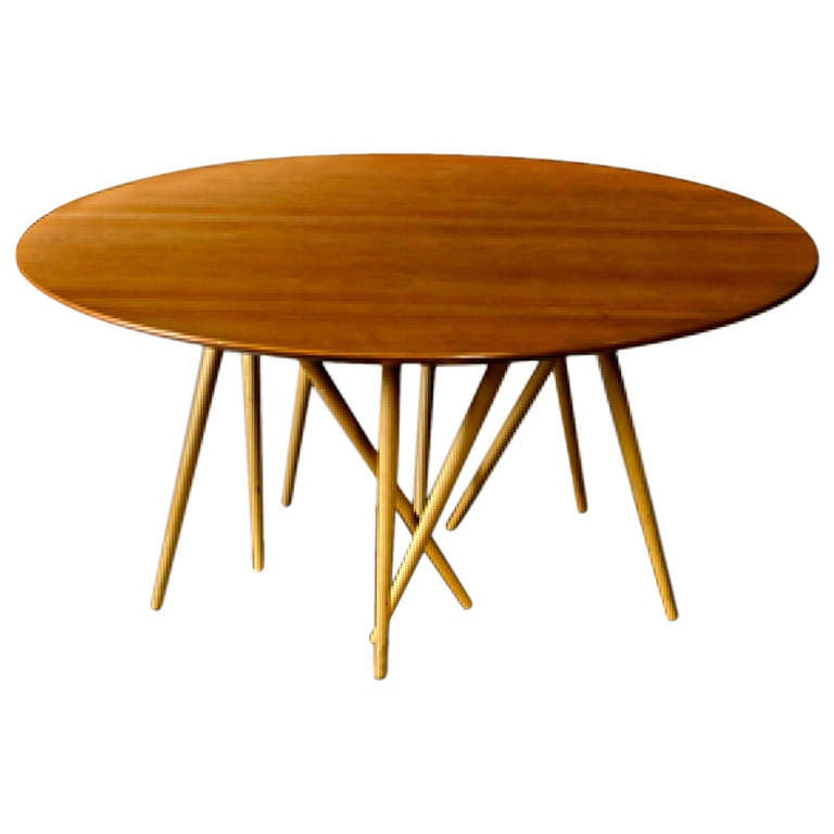 Low Table In Maple Birch And Lacquered Wood By Lawrence Laske At 1stdibs