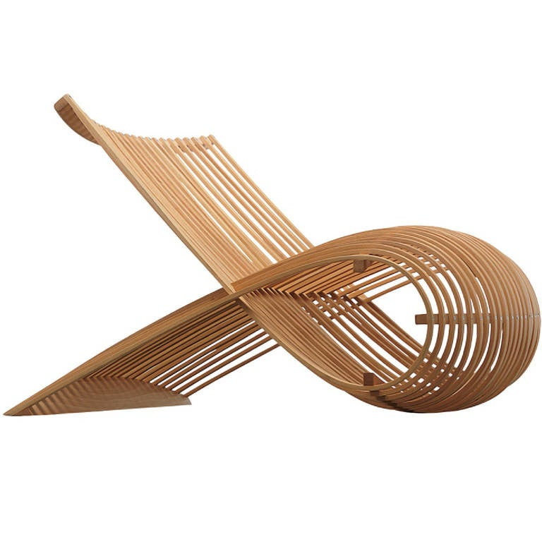 """Wood"" Chair by Marc Newson 1"