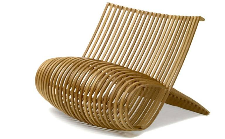 """Wood"" Chair by Marc Newson 2"