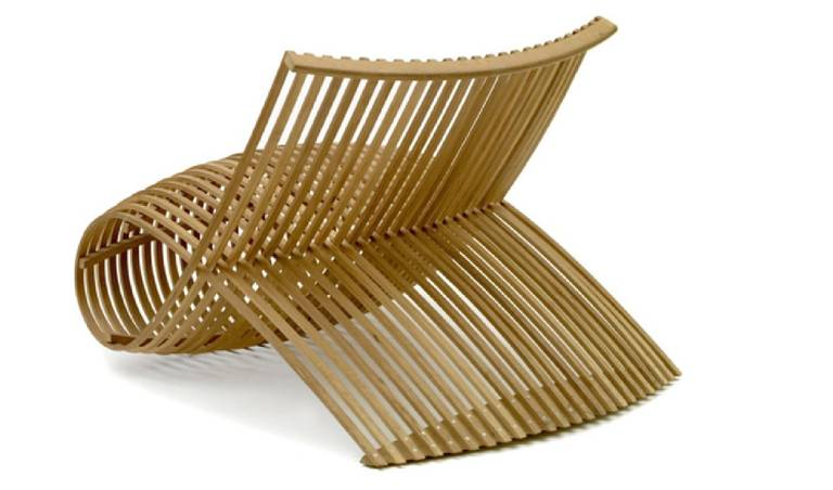 """Wood"" Chair by Marc Newson 3"