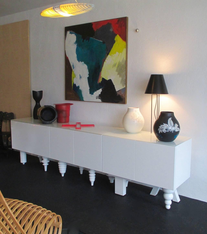 Modern MULTI-LEG CABINET  by JAIME HAYON For Sale