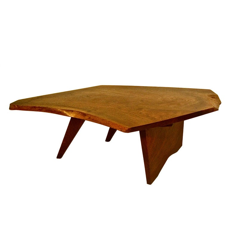 Conoid Coffee Table By George Nakashima At 1stdibs