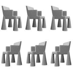 Set of (6) Vip Chairs by Marcel Wanders
