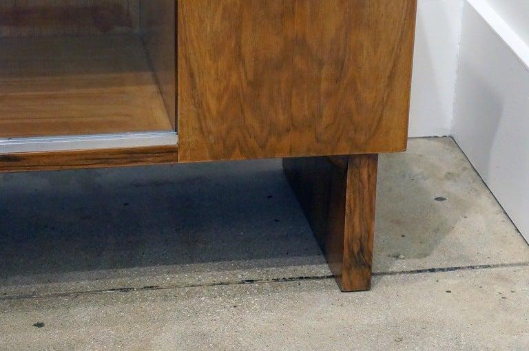 Art Deco Walnut Cabinet For Sale At 1stdibs