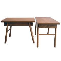 Taper Leg Tables by T.H. Robsjohn-Gibbings for Widdicomb