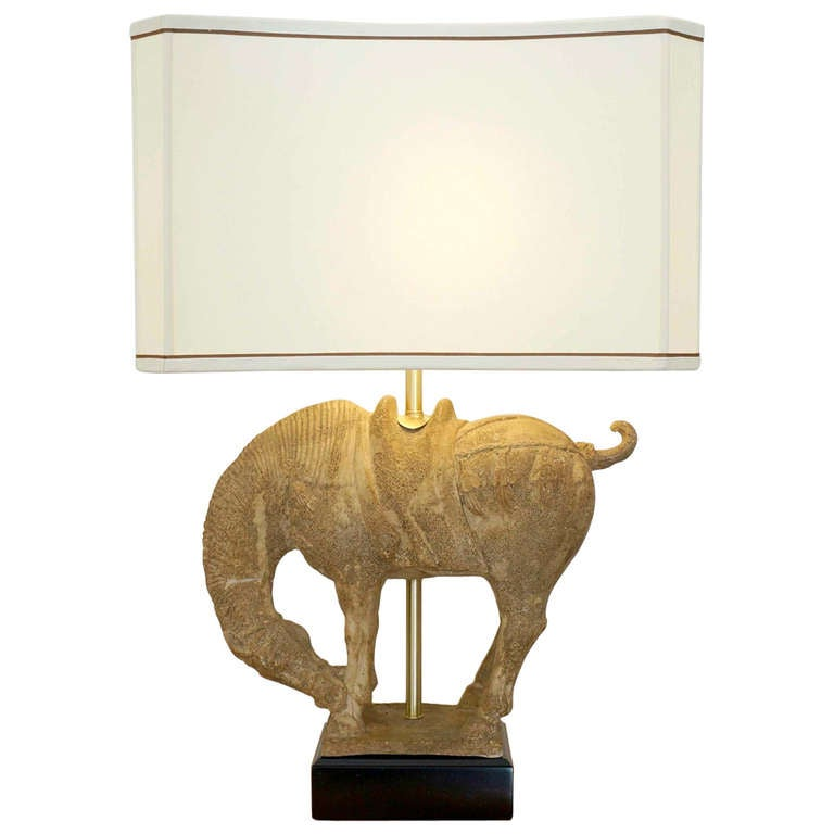 Clay horse table lamp for sale at 1stdibs clay horse table lamp for sale aloadofball Gallery