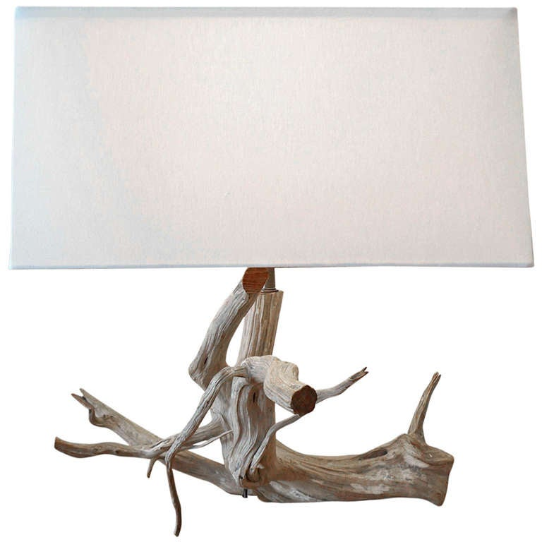 Tree Branch Table Lamp at 1stdibs