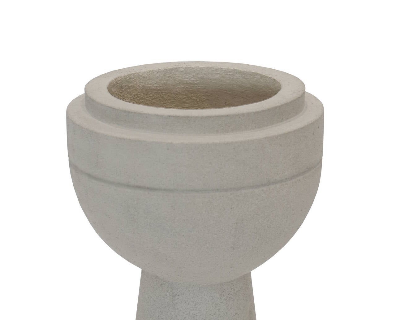 Eschbach ii cast concrete planter for sale at 1stdibs - Casting concrete planters ...