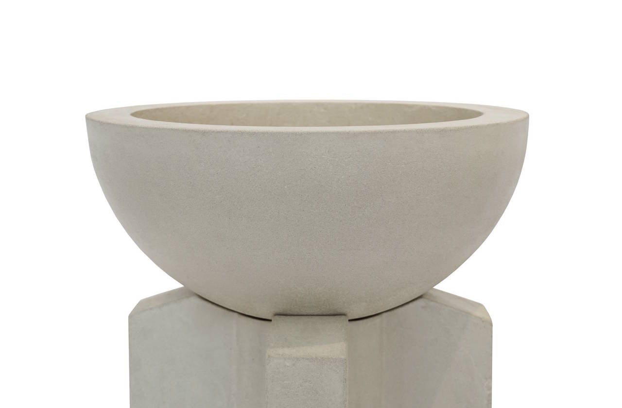 Californian ii cast concrete planter for sale at 1stdibs - Casting concrete planters ...