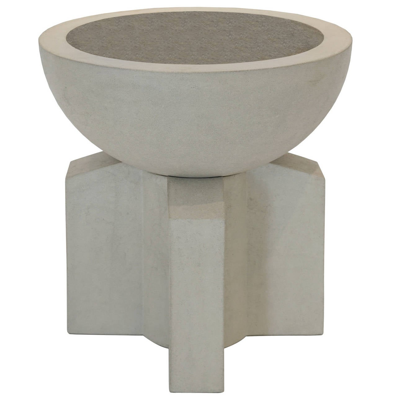 Californian i cast concrete planter for sale at 1stdibs - Casting concrete planters ...