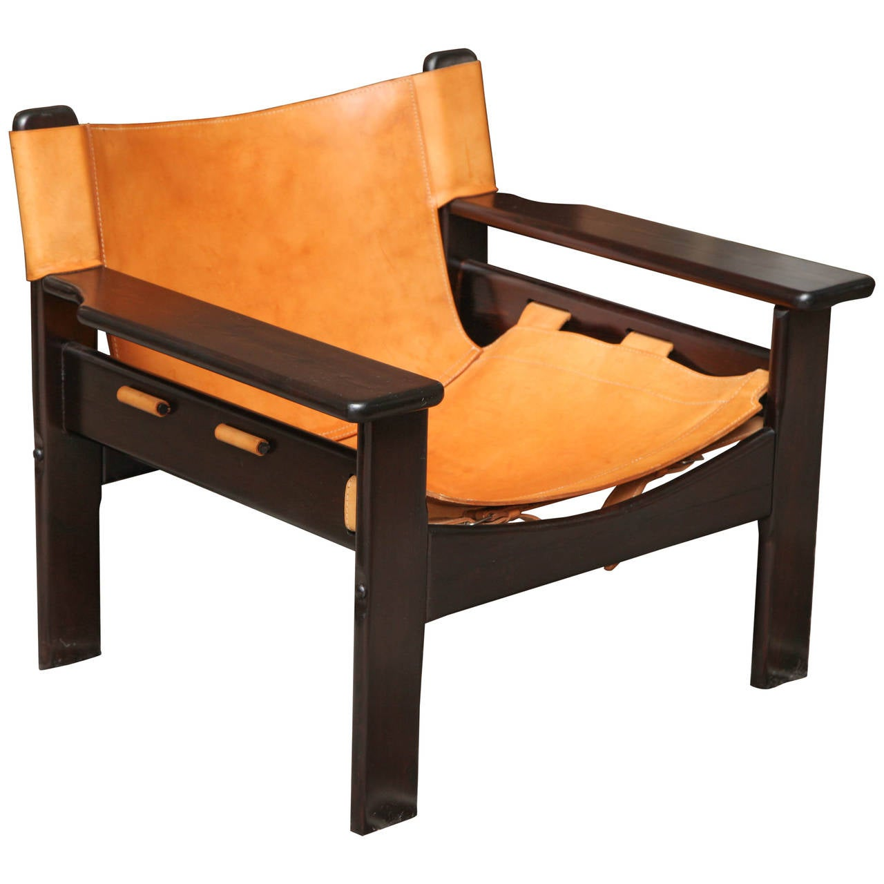 Danish Safari Chair at 1stdibs