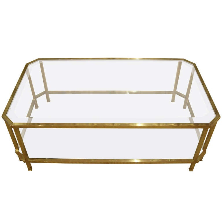 High quality french vintage coffee table at 1stdibs for High quality coffee tables