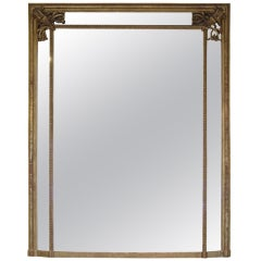 Early 19th century French gilt mirror