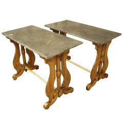 Pr. 19th C French Tavern Tables