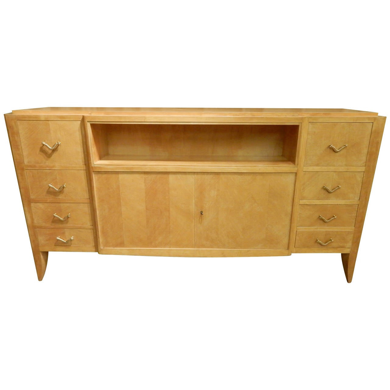 french mid century modern sideboard at 1stdibs. Black Bedroom Furniture Sets. Home Design Ideas