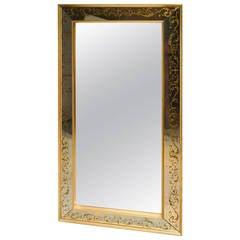French Églomisé Mirror
