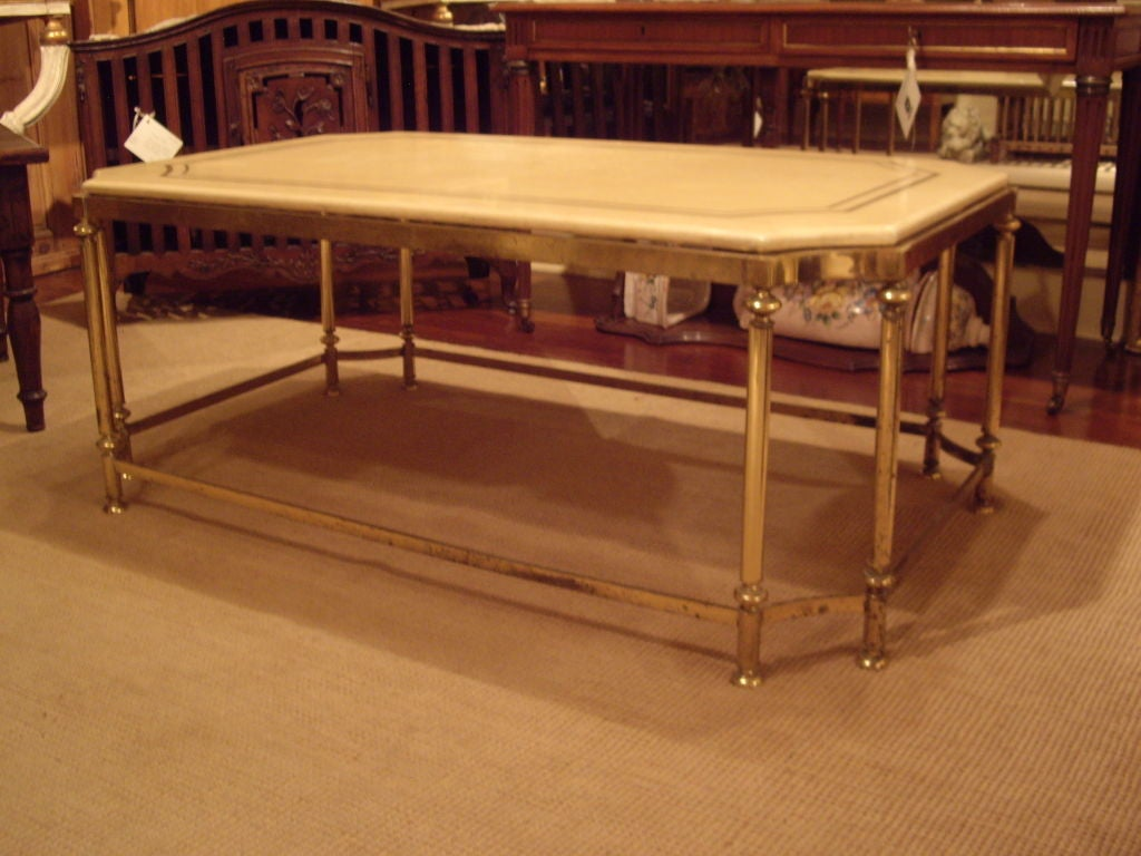 Vintage Mid Century French Coffee Table At 1stdibs