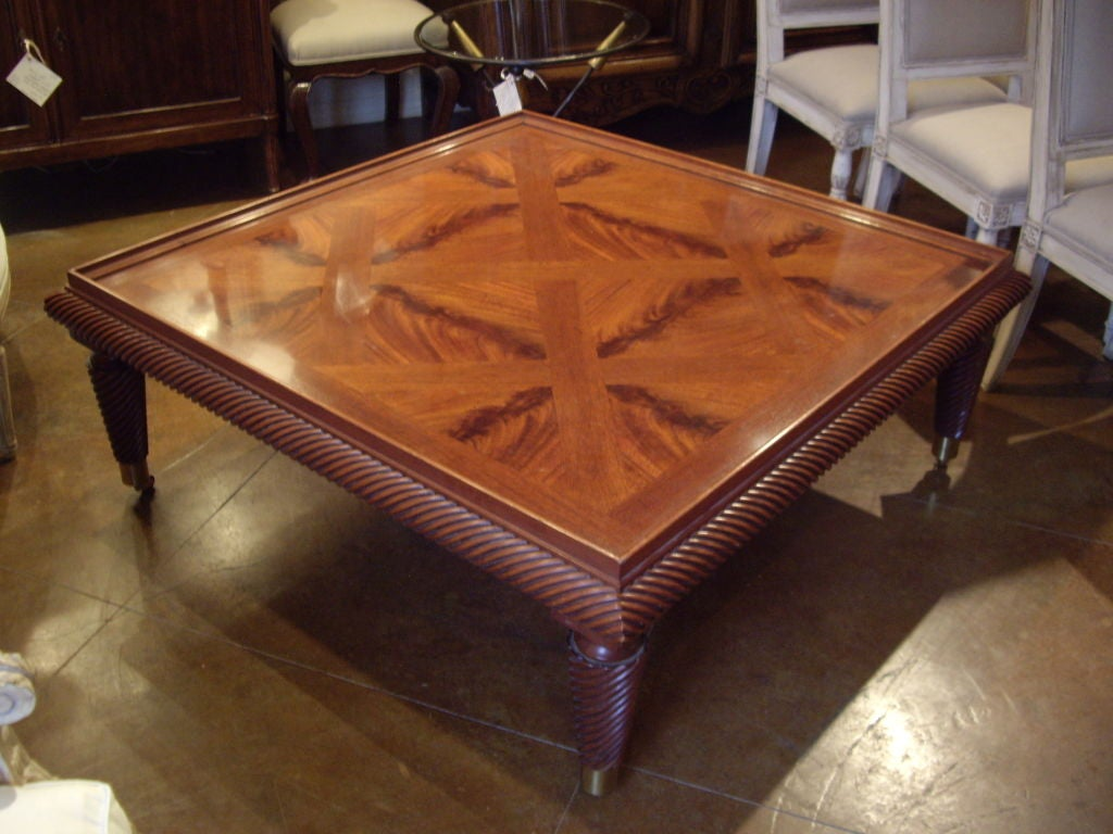 vintage baker coffee table at 1stdibs