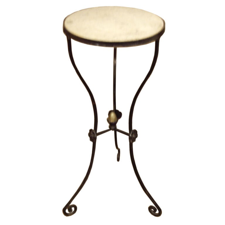 Antique Italian iron and marble stand at 1stdibs : XXX822113282992701 from 1stdibs.com size 768 x 768 jpeg 23kB