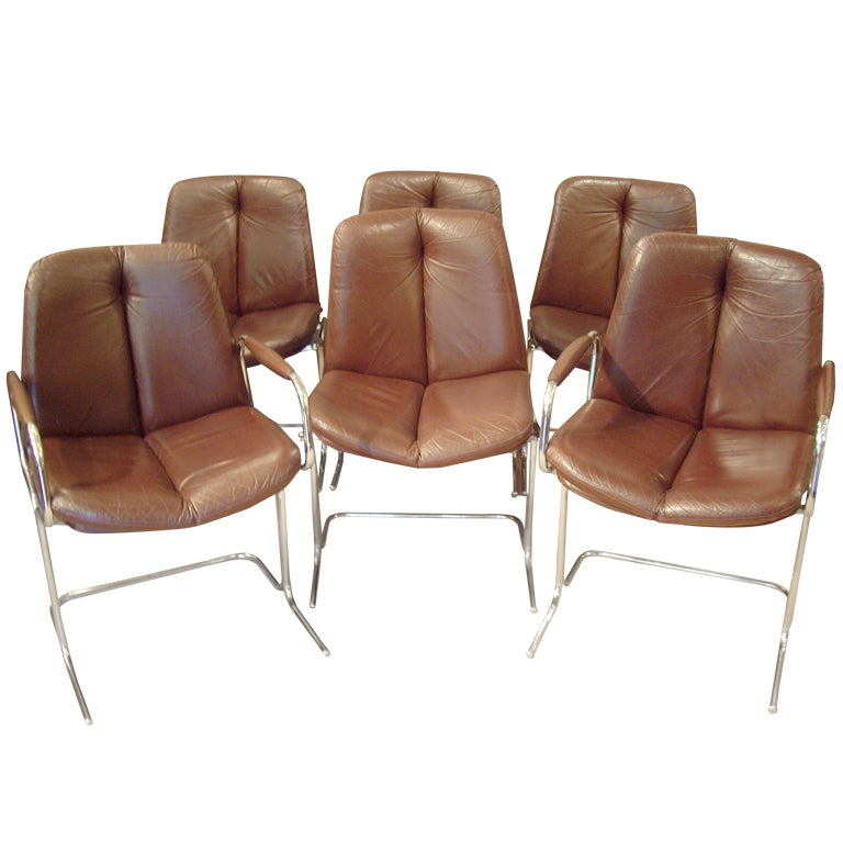 Pieff 1960 S Dining Chairs At 1stdibs