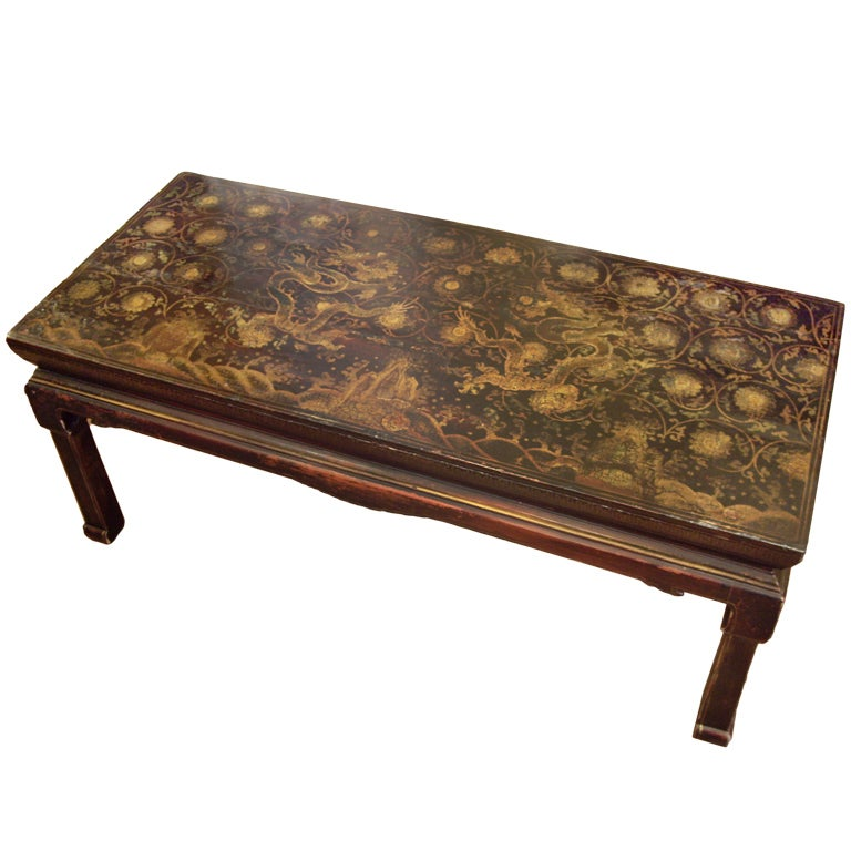 19th C Chinoiserie Coffee Table At 1stdibs