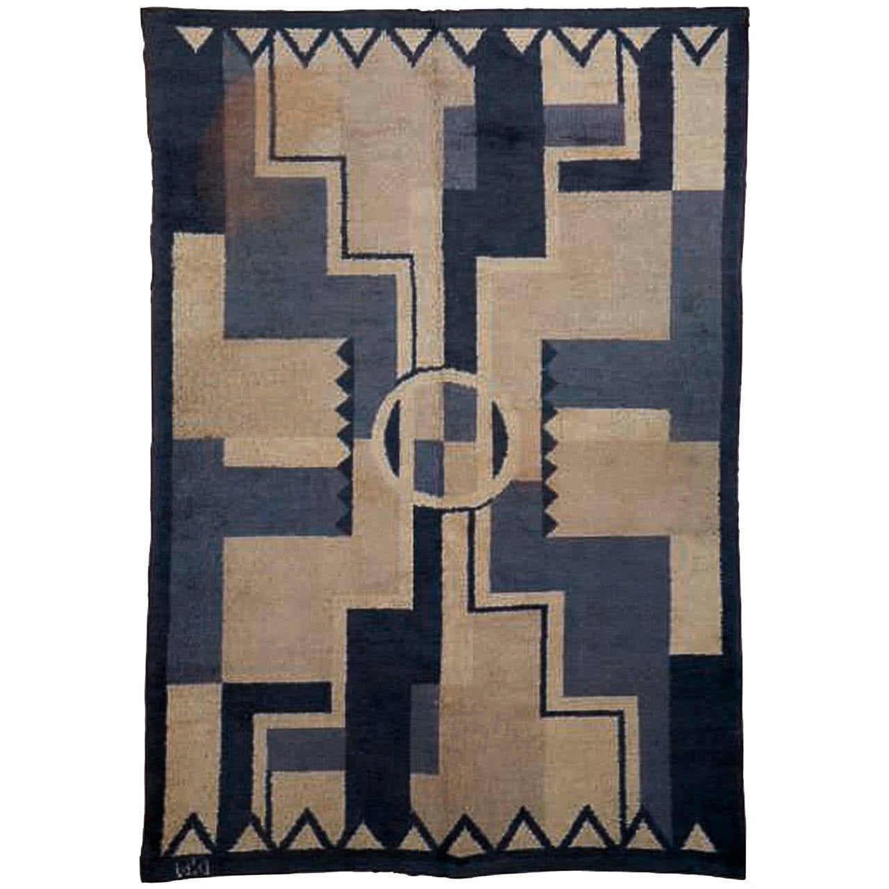French art deco rug at 1stdibs for European art deco
