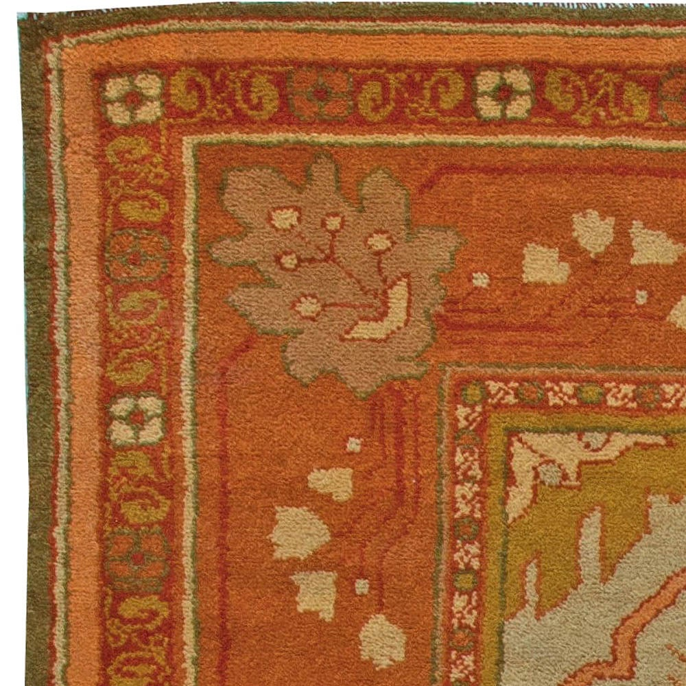 arts and crafts rug at 1stdibs